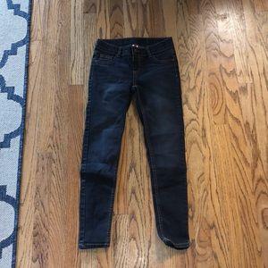 black washed total girl jeans